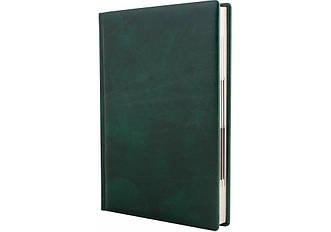 Щоденник напівдатований, A5, FANTASY, зелений