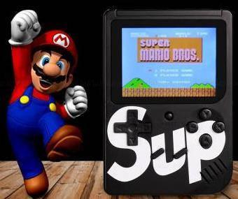 Портативная игровая приставка Sup Game Box 400 игр + джостик для 2х игроков на ТВ
