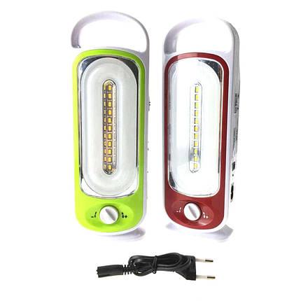Переносной фонарик YJ 6881U с USB для зарядки телефона, фото 2