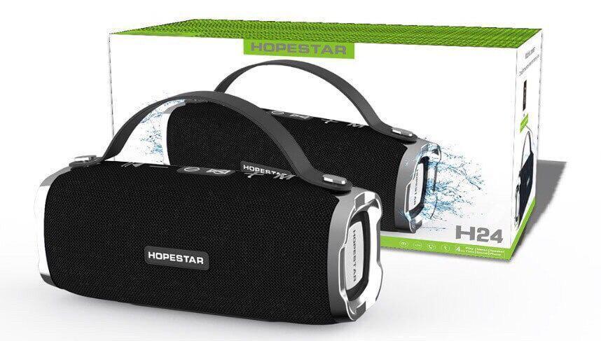 Hopestar H24 портативная акустическая стерео колонка Bluetooth
