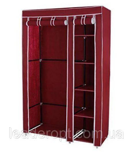 [ОПТ] Складной тканевый шкаф-органайзер Storage Wardrobe на 2 секции