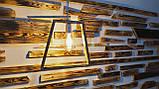 Деревянный светильник  ночник бра люстра потолочный, фото 2