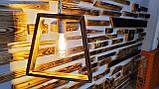 Деревянный светильник  ночник бра люстра потолочный, фото 4