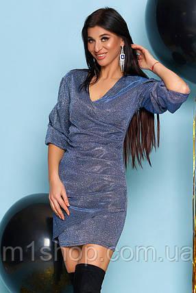 Женское праздничное блестящее платье (Майяjd), фото 2