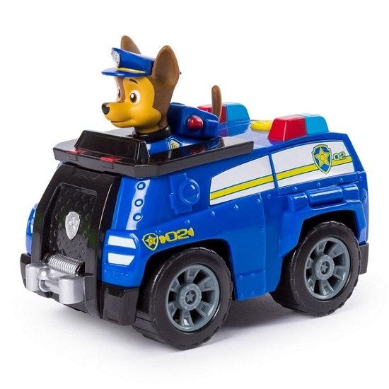 «Щенячий патруль»: спасательный автомобиль с фигуркой Гонщика Spin Master