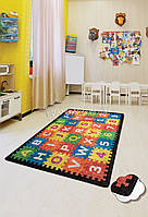 "Ковер в детскую комнату ""Puzzle"" 100x160 Chilai Home № 77-116"