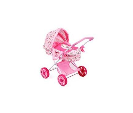 Коляска для ляльки, класика, кошик, колеса, D86582