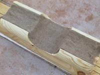 Джутовый утеплитель  для деревянного дома