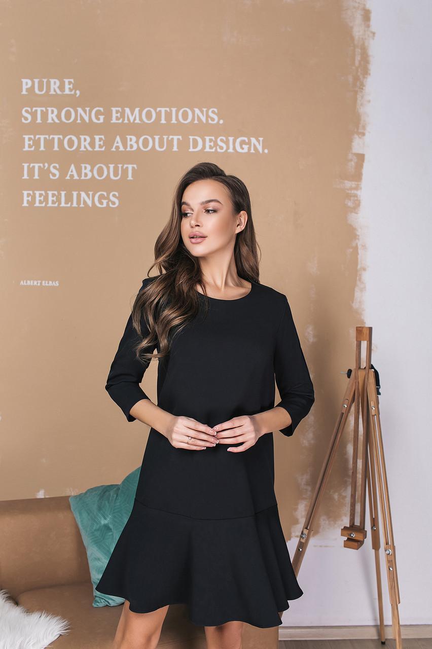 Платье LiLove 034 42 черный
