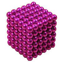 Головоломка Неокуб NeoCube 216 шариков по 5мм Малиновый