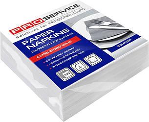 Салфетки сервировочные 33х33 однослойные белые PROservice Comfort 100 шт.