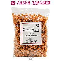 """Макарони-спіральки рисові томатні (без глютену) """"Світові традиції"""" 500 г, фото 1"""