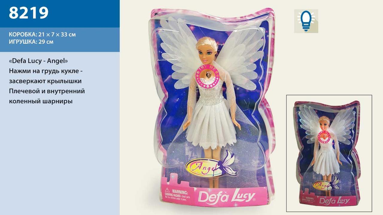 """Кукла """"Defa Lucy""""Ангел"""" свет крылья, в слюде 21*7*33см /48-2/"""