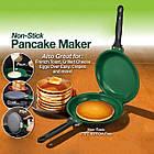 [ОПТ] Керамічна двостороння сковорода для млинців і панкейків Ceramic Non Stick Pancake Flip Maker Jack., фото 3