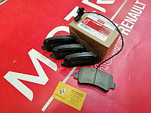 Колодки тормозные задние Renault Master3 (MOTRIO 8660004443)