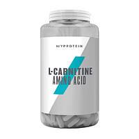 Л-карнитин MyProtein L-Carnitine (180 таб) майпротеин
