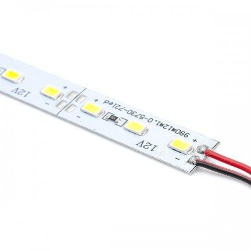 Светодиодная линейка PROLUM SMD 5630 72-LED 12V + 3М скотч Light, Белый (5500-6000К)