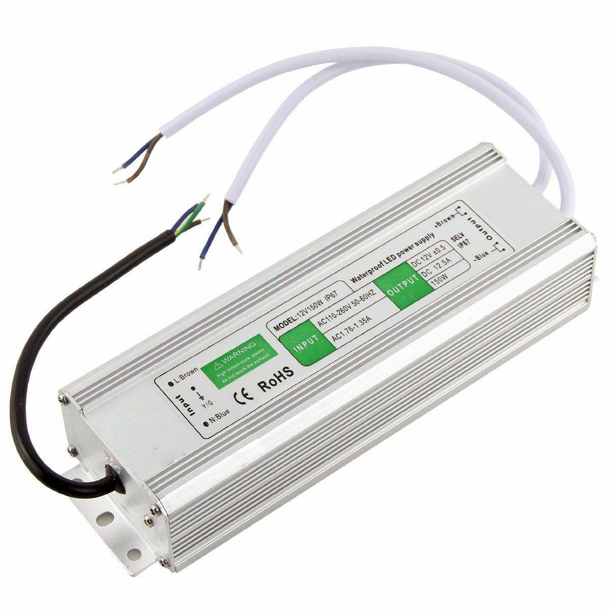 Блок питания импульсный PROLUM 150W 12V (IP67,12,5A)