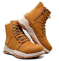 Ботинки чоловічі KMB зимові коричневі 43 розмір