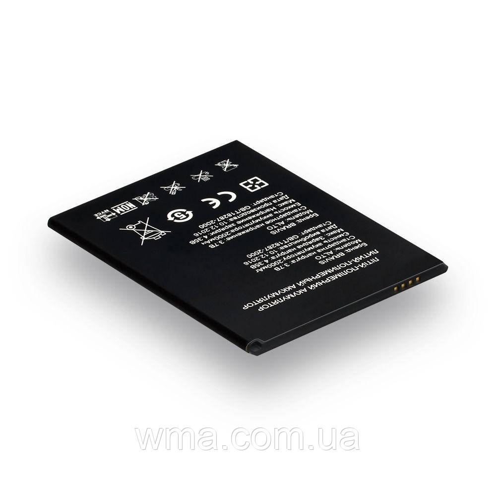 Аккумулятор для телефонов (батарея) Bravis Alto Характеристики AAAA