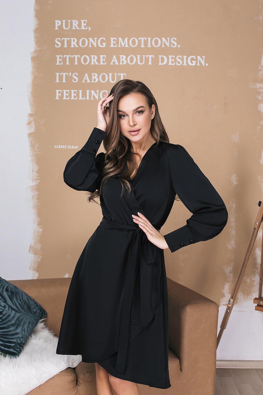 Платье LiLove 026 44 черный
