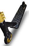 Самокат трюковой SportVida Stunt RS9 SV-WO0004 Black/Gold, фото 3