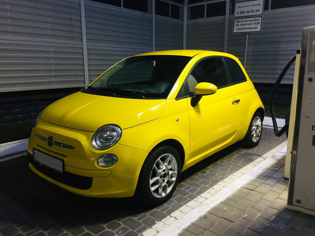 FIAT 500 (Cinquecento), 2008г.в., 1.4, 100л.с., не бит, не крашен