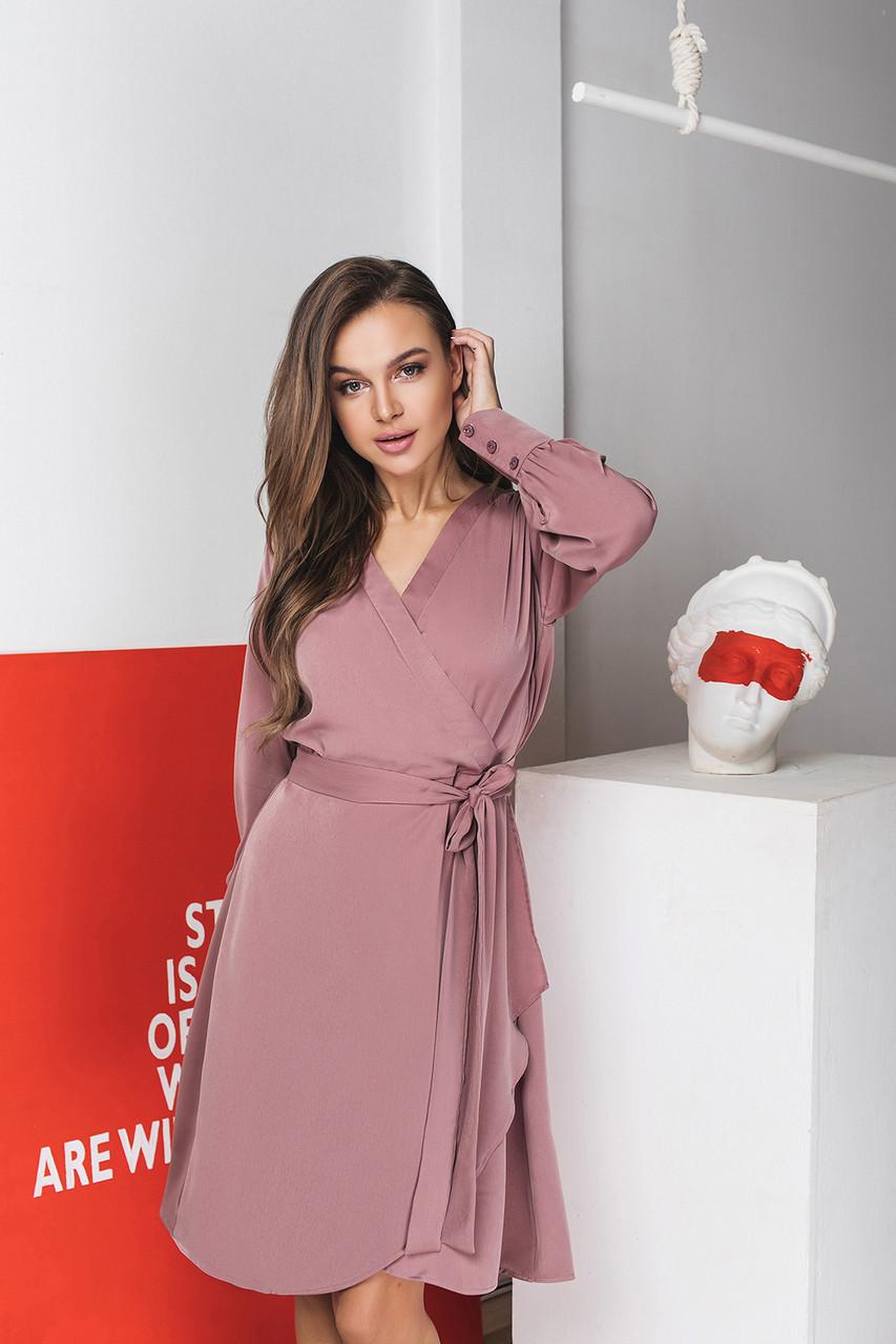 Платье LiLove 026-1 42 пудра