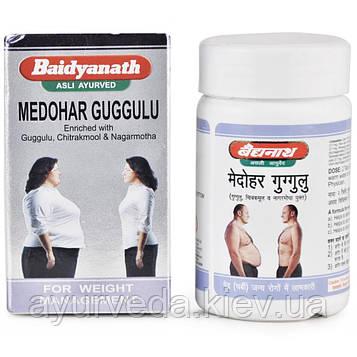 Медохар Гугул, Медари Гугул, холестерин, избыточный вес, похудение, Medohar Guggulu,120 tab)
