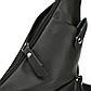 Мужская Сумка Слинг Однолямочная Через Плечо Polo Vicuna (V9926-2) Искусственная Кожа Черная, фото 4