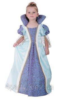 Костюм Голубая Принцесса (детский), размер 110-120 см. 150216-041