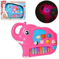 Детское пианино Слон 551 музыкальная развивающая игрушка звуки животных