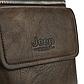 Мужская Сумка Через Плечо Мессенджер Jeep Buluo (JB8805) Искусственная Кожа Коричневая, фото 8