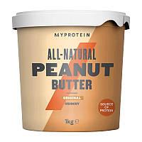 Натуральная арахисовая паста MyProtein (1 кг) арахисовое масло майпротеин