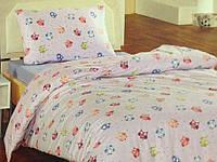 Байковое постельное бельё Guky размер Полуторный (простынь на резинке)