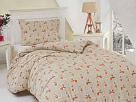 Байковое постельное бельё Fox размер Полуторный (простынь на резинке)