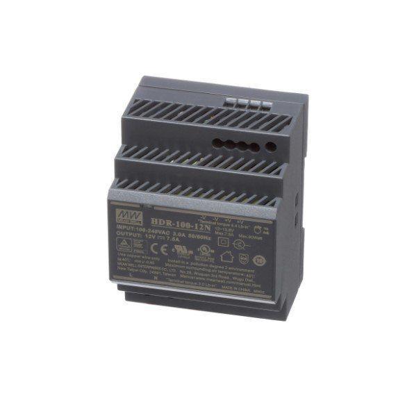 Блок питания импульсный Mean Well на DIN-рейку 90W 12V (IP20, 7,5A) PRO