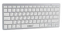 Беспроводная клавиатура для компьютера UKC BK3001 для телевизора ноутбука пк для смарт тв планшета