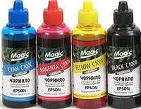 Комплект чернил Magic Epson (B/C/M/Y) 4x100ml