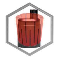 Тигель графитовый Galloni SPC 1