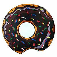 Пляжный коврик Шоколадный Пончик, 150 х 150 см.