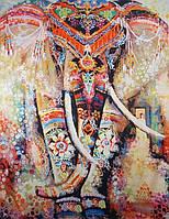 Покрывало, полотно на стену, кровать Слон Большое, 200 х 150 см.