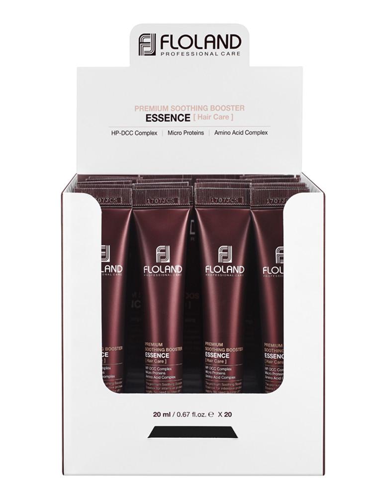 Сироватка-бустер для пошкодженого волосся Floland Premium Soothing Booster Essence Коробка 20х20 мл