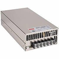 Блок питания импульсный Mean Well 600W 24V (IP20, 25A) PRO