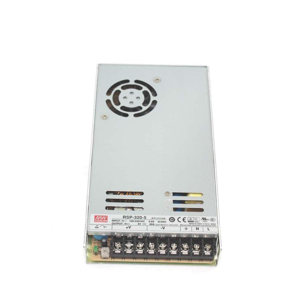 Блок питания импульсный Mean Well 300W 5V (IP20, 60A) PRO