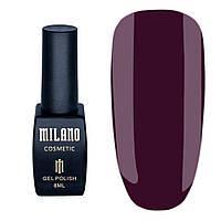 Гель лак Milano Милано №191— 8 мл качественный для маникюра и педикюра