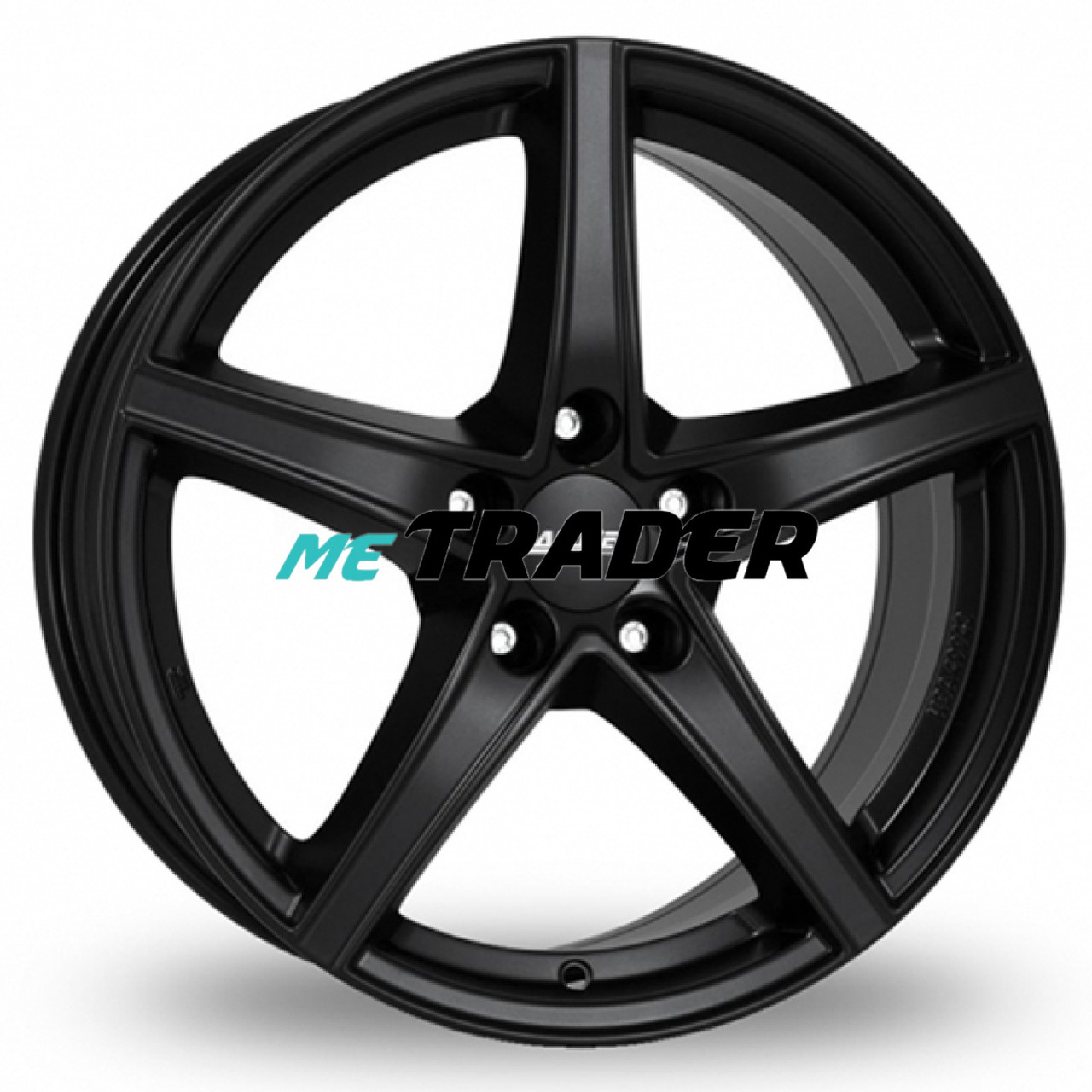 Alutec Raptr R17 W7.5 PCD5x114.3 ET40 DIA70.1 Racing Black