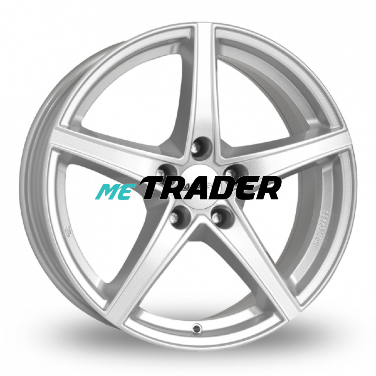 Alutec Raptr R17 W7.5 PCD5x114.3 ET48 DIA70.1 Silver