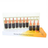 Ампулы для волос с экстрактом женьшеня M-Cerade Red Ginseng Extract Ampoule Коробка 10х10 мл
