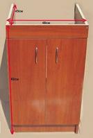 Тумба кухонна 50х50 Горіх